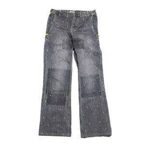 Material 綿(コットン)100  Size 表記:S 実寸:ウエスト68 総丈93 股上25...