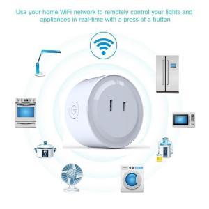 スマートプラグ  Wifi スマートコンセント  Alexa Echo Googleホーム IFTT...