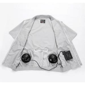 最新版 空調服用バッテリーとファンセットのみ 服なし USB充電器付き ファンあり 大容量 PSE認証済 4400mAh |jingyuan