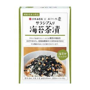海苔茶漬 サラシア入り 1箱(6袋入)|jintan