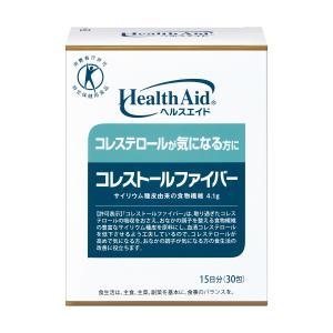 ヘルスエイド コレストールファイバー15日分 <特定保健用食品>|jintan