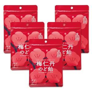 【森下仁丹公式】梅仁丹のど飴 60g(約17粒)5袋セット
