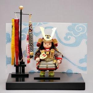 五月人形 幸一光/5月人形 通販販売店。間口35×奥30×高37cm  a5hikari-580d