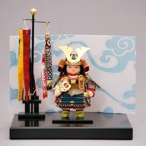 五月人形 幸一光/5月人形 通販販売店。間口35×奥30×高37cm  a5hikari-580c