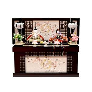 雛人形 収納飾り ひな人形 親王飾り お雛様 コンパクト ミニ JIN雛シリーズ|jinya