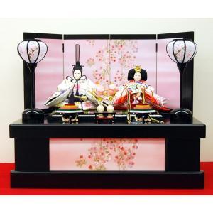 雛人形 親王飾り 収納飾り ひな人形 お雛様 コンパクト ミニ|jinya