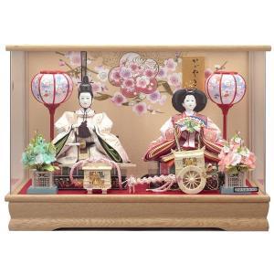雛人形 ケース飾り 親王飾り ひな人形 舞姫 133-240|jinya