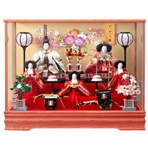 雛人形 ケース飾り 5人飾り ひな人形 ほのか 163-507|jinya