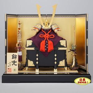 五月人形 平安一水 京兜飾り コンパクト 一水作 kabuto70-89|jinya