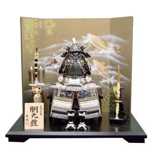 五月人形 上杉謙信 鎧飾り 5月人形 コンパクト 5f63-147 yoroi60-69|jinya