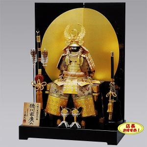五月人形 鎧飾り 徳川家康 鎧平飾り yoroi70-89|jinya