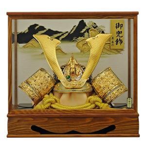 五月人形 兜飾り コンパクト ケース 着用兜 5月人形 兜 095-753 kabuto50-59|jinya