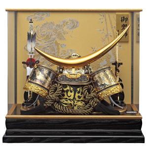 五月人形 兜飾り コンパクト ケース飾り 着用兜 伊達政宗 155-772 kabuto60-69 5月人形|jinya