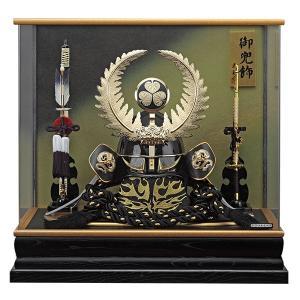 五月人形 兜飾り コンパクト 着用 ケース 飾り 兜 徳川家康 155-753 kabuto60-69|jinya