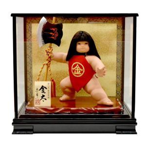 金太郎 人形 ケース 飾り 鉞 まさかり taisyou-49 taisyou-49|jinya