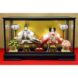 雛人形 ひな人形 ケース飾り コンパクト 親王飾り|jinya