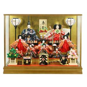 雛人形 ケース 10人飾り 3段飾り コンパクト|jinya