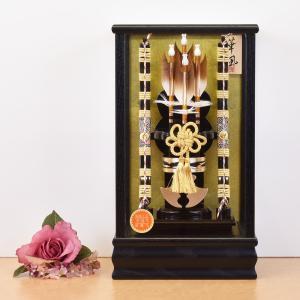 破魔弓 初正月飾り 破魔矢 コンパクト ミニ mini お祝い|jinya