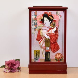 羽子板 お祝い 久月 初正月 羽子板飾り コンパクト ミニサイズ 人気セット|jinya