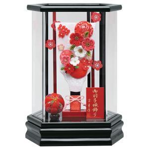 羽子板 お祝い 7号 アクリルケース 陽葵(黒)ひまり ケース飾り アクリルケース おしゃれ かわいい 可愛い コンパクト モダン jinya