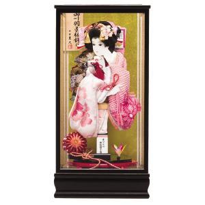 羽子板 15号 初正月飾り 春日 102601 お祝 羽子板飾り コンパクト ミニ|jinya