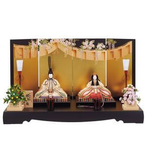 雛人形 木目込み 一秀  ひな人形 親王飾り 平飾り|jinya