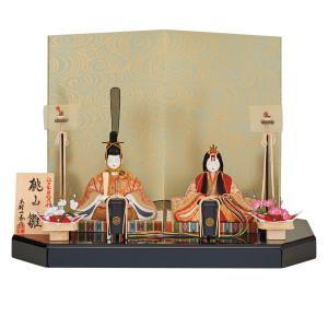 雛人形 木目込み 一秀  ひな人形 親王飾り 平飾り jinya