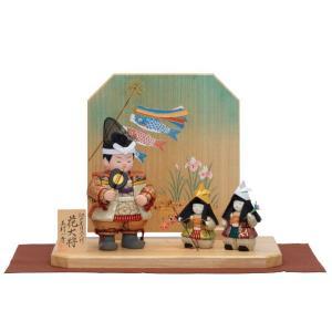 雛人形 一秀 木目込み ひな人形 コンパクト ミニ お雛様 初節句飾り おしゃれ|jinya