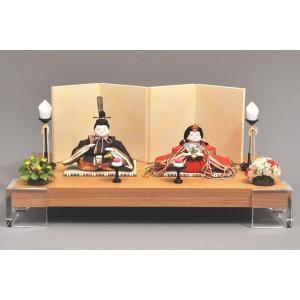 雛人形 ひな人形 幸一光 衣装着 薫親王飾りアクリル台101|jinya