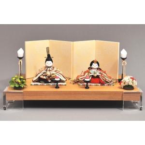雛人形 ひな人形 幸一光 衣装着 彩親王飾りアクリル台103|jinya