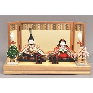 雛人形 ひな人形 幸一光 衣装着 彩親王飾り台付1030|jinya