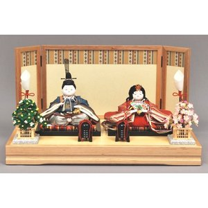 雛人形 ひな人形 幸一光 衣装着 咲親王飾り台付1050|jinya