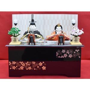 雛人形 ひな人形 幸一光 衣装着 雪親王飾り収納飾り1261|jinya