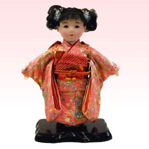 市松人形 8号 女の子 いちまつ人形 jinya