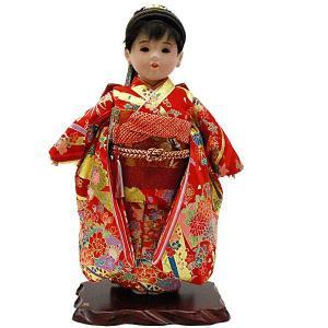 市松人形13号 女の子 いちまつ人形 ポニーテール jinya