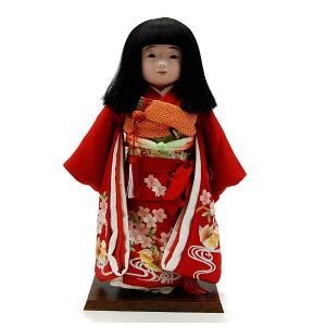 市松人形13号 鴛鴦 蘇州刺繍 女の子 いちまつ人形 jinya