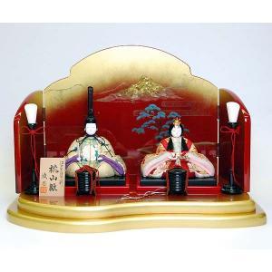 雛人形 木目込 親王飾り 平飾り ひな人形|jinya