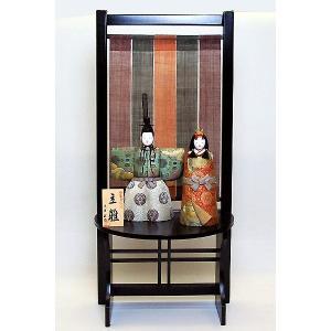 雛人形 木目込 立雛 平飾り ひな人形|jinya