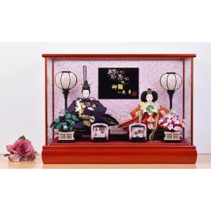 雛人形 久月 ケース飾り jinya