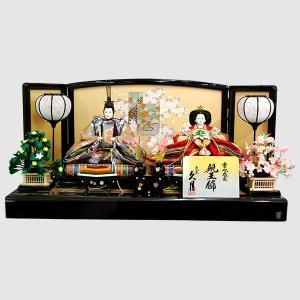 雛人形 久月 親王飾り コンパクト|jinya