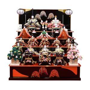 雛人形15人飾り コンパクト ひな人形 五段飾りセット おひな様 小さい 5段 コンパクト 初節句飾り 桃の節句 jinya