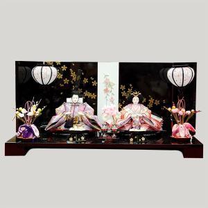 雛人形 親王飾り 平飾り ミニ コンパクト|jinya
