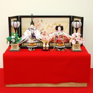 雛人形 収納飾り ひな人形 お雛様 コンパクト ミニ|jinya