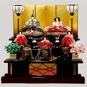雛人形 3段飾り 5人飾り 三段 五人|jinya