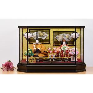 雛人形 久月 ケース 飾り 5人飾り jinya