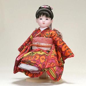 市松人形 抱き人形 10号 いちまつ人形 10号遊u081|jinya
