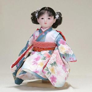 市松人形 抱き人形 10号 いちまつ人形 10号遊u101|jinya