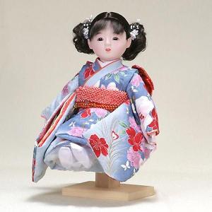市松人形 抱き人形 10号 いちまつ人形 10号遊u104|jinya