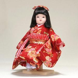 市松人形 抱き人形 10号 いちまつ人形 10号遊u910|jinya