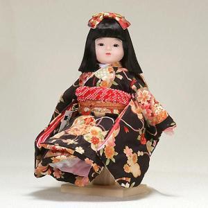 市松人形 抱き人形 10号 いちまつ人形 10号遊u913|jinya